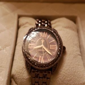 Judith Ripka Watch and 4 interchangeable Bands